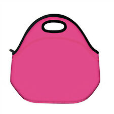Pink Insulated Lunch Tote Bag Cooler Box Neoprene lunchbox baby bag Handbag Case