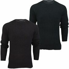 Mens Jumper by FCUK/French Connection Heavy Cotton Rib