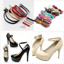 Leather Shoe Straps  Weave Tape Laces Band for Holding Loose High Heeled Shoes