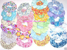 Hair Scrunchie Floral Flowers Rose Ties Ponytail Holders Scrunchies by Sherry