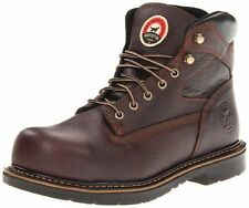 Red Wing Mens IRISH SETTER 6 Inch Brown Leather Steel Toe EH Work Boots 83624