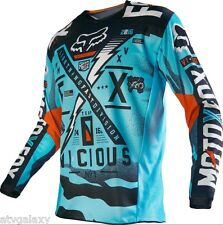 2016 Fox Racing Kids 180 Vicious MX Motocross Offroad ATV Jersey AQUA 14978-246