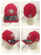 San Francisco 49ers OFFICIAL 2015 New Era 39Thirty Player Coach Sideline Cap Hat