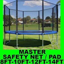UNIVERSAL REPLACEMENT TRAMPOLINE SAFETY NET PAD SURROUND SPRING COVER PADDING