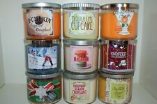 New Bath and Body Works 3 Wick Candle 14.5 oz Test Scents You Choose