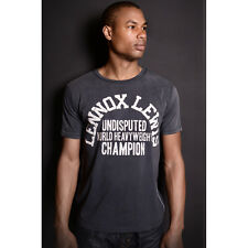 Roots of Fight Lennox Lewis Undisputed Sun Faded T-Shirt - Black