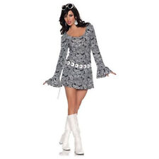 ADULT WOMENS 60'S 70'S RETRO FAB DISCO GO GO GIRL DIVA GROOVY HIPPIE MOD COSTUME