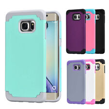 Hybrid Shockproof Case Soft Cover for Samsung Galaxy S6 Edge Plus /S6 Edge Case