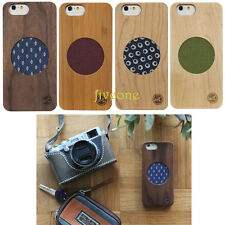 """Vintage Genuine Natural Real Wood Wooden Bamboo Case Cover For iPhone 6 4.7"""""""