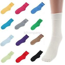 1Pair New Women Ladies Retro Cute Lace Ruffle Frilly Ankle Sock Cotton Socks B15