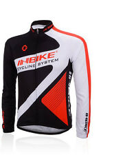 Mens Outdoor Bike Bicycle Jersey Long Sleeve Cycling Top T-Shirt Quick Dry M-XXL