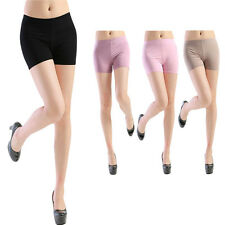 Women Short Pants Sport Safety Underwear Belly Dance Tight Candy Color Leggings
