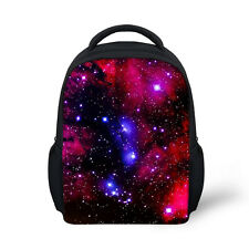 Baby Toddler Kids Galaxy Backpack Small Kindergarten Child School Shoulder Bags