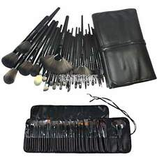 32 PCS Professional Makeup Eyebrow Shadow Cosmetic Brush Case Bag Set Kit EA