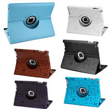 360 Rotating Folio Stand Smart Leather Case Cover For Apple iPad 2 3 4 air 9.7""