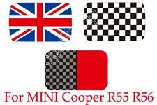 Checkered Union Jack Roof Decal Stickers Graphic For Mini Cooper R56 Hatchback