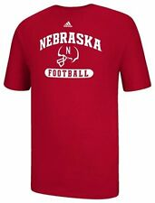 Nebraska Cornhuskers Football Sport Arch T-Shirt adidas - Red