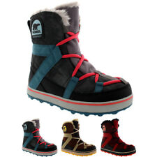Womens Sorel Glacy Explorer Shortie Waterproof Winer Warm Snow Rain Boots UK 3-9
