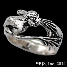 Official HOBBIT/LORD OF THE RINGS Sterling Silver GOLLUM Creature RING, Smeagol