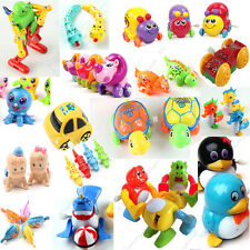 1x New Gift Children Kids Funny Plastic Clockwork Wind Up Party Toy