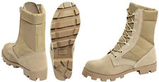 Desert Tan Leather Speedlace Panama Sole Jungle Boots rothco 5057