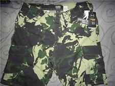 UNDER ARMOUR WOUNDED WARRIOR CAMO CARGO SHORTS SIZE W38 36 34 32 MENS NWT $54.99
