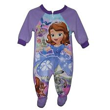 Disney Princess Sofia The First Footed Blanket Sleeper Pajama Girl Size 5T