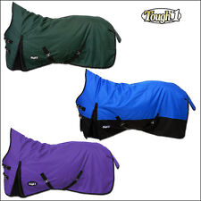 TOUGH1 1200D 300GSM WATERPROOF POLY HIGH NECK TURNOUT HORSE WINTER BLANKET 69-84