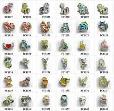 10pcs mixed Floating Charms locket charms for floating memory locket