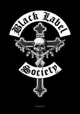 Black Label Society Textile Flag - Crucifix (IMPORT)