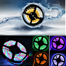 5M 600/1200 LEDs Waterproof Strip SMD 5050/3528/5630 RGB Cool/Warm White Light