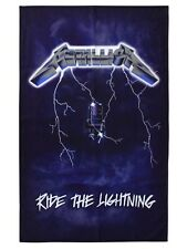 Metallica Ride The Lightning Textile Flag - NEW & OFFICIAL
