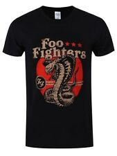 Foo Fighters Snake Men's Black T-shirt