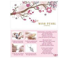 Wishing Pearl Gift Set w/ 16in 925 Sterling Silver Chain and a Pearl Cage