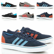 Mens addidas lace suede leather canvas lo top skateboard sneaker trainers shoes