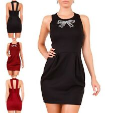 LADIES Gala dress Party Dress Cocktail Evening Dress Mini dress S-M-L-XL NEW