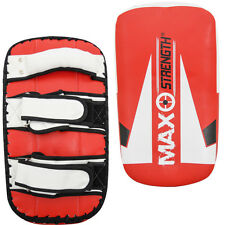 Maxstrength Thai Kick Boxing Strike Curved Arm Pads MMA Focus Muay Punch Shield