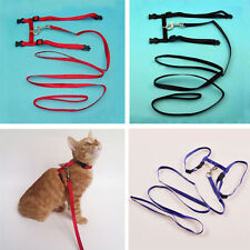 Fashion Small Pet Harness straps Cat Pet Puppy Kitten Rabbit Adjustable Collar