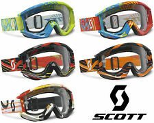 2014 SCOTT MX RECOIL XI PRO MOTOCROSS GOGGLES enduro bike mtb bmx tear off new