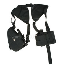 TACTICAL SECURITY UNIVERSAL LEFT/RIGHT HAND PISTOL POUCH SHOULDER HOLSTER