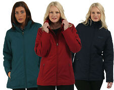 RRP £60 REGATTA LADIES WATERPROOF FLEECE LINED JACKET SIZES 10 - 26 Rmyrt