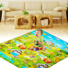 Baby Kids Toddler Crawling Pad Play Game Carpet Rugs Picnic Letter Alphabet Mat