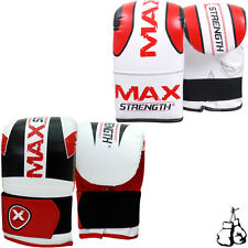 MMA Rex Boxing Bag Gloves Muay Thai Grappling Mitts Training Punch Pad Gel UFC