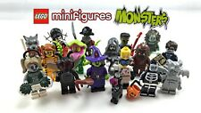 MINIFIGURES MINIFIGURINES LEGO 71010 2015 SERIE 14 AU CHOIX MONSTERS FOR CHOOSE