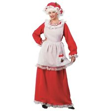 Mrs Claus Costume Adult Santa Outfits for Women Christmas Fancy Dress
