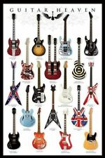 GUITAR HEAVEN POSTER WITH FRAMING / HANGER OPTIONS