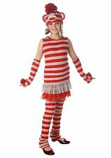 Tween Sock Monkey Costume