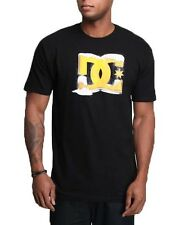 DC Shoes Mens Massive Beer Star T-shirt Black Short Sleeve Tee Shirt New Men's