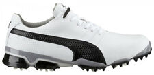 New 2016 Mens Puma  TitanTour Ignite Golf Shoes White/Black - Any Size