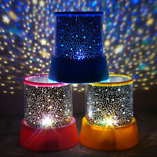 Night Romatic Gift Cosmos Star Sky Master Projector Starry Night Light Lamp